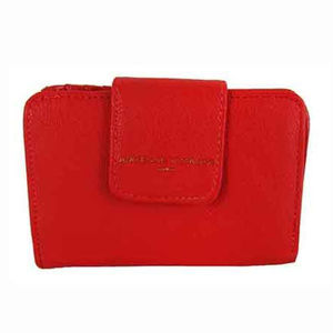 ADRIENNE VITTADINI Red Faux Leather Wallet